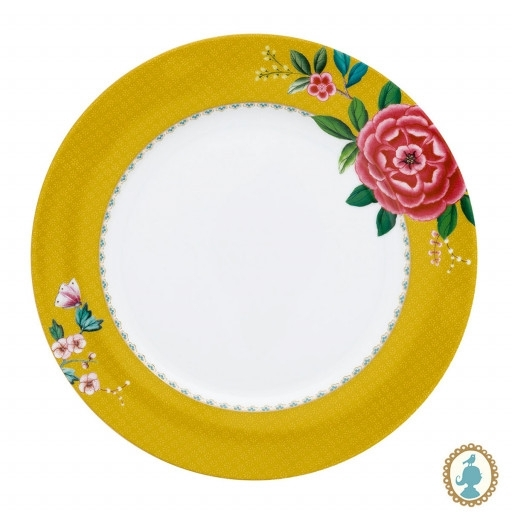 Prato Jantar Amarelo Pip Studio
