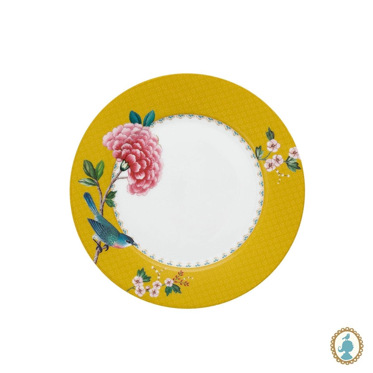Prato Sobremesa Amarelo Pip Studio