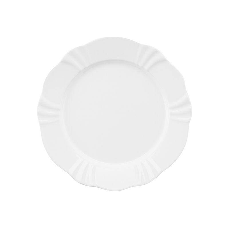 Prato Sobremasa 23cm White Soliel