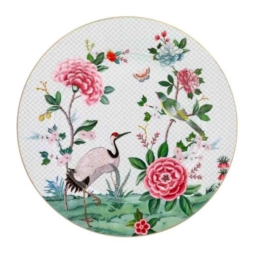 Sousplat Branco Birds Pip Studio