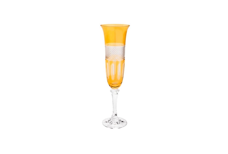 Taça Champagne Amber Unidade