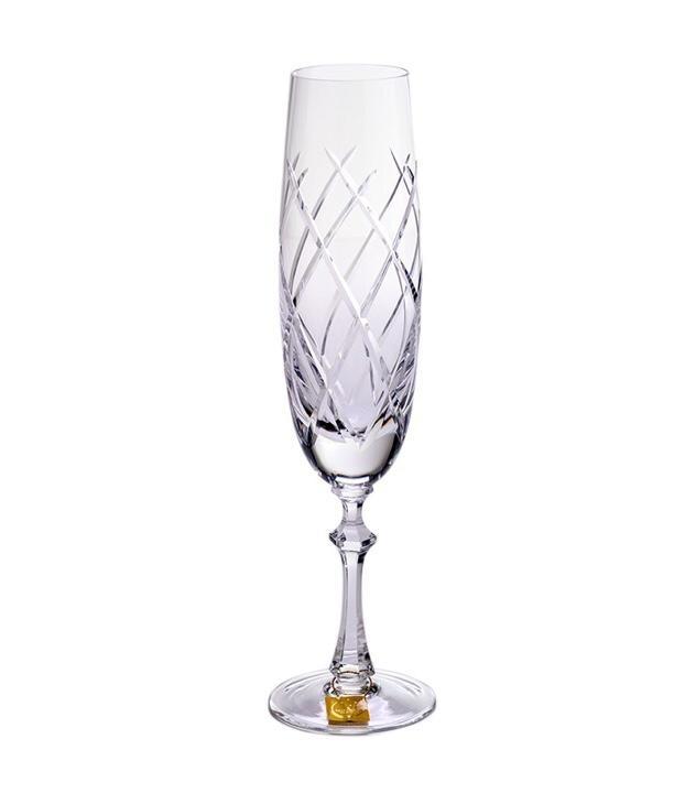 Taça de Champanhe Cristal Mozart