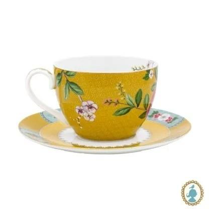 Xicara Café Amarelo