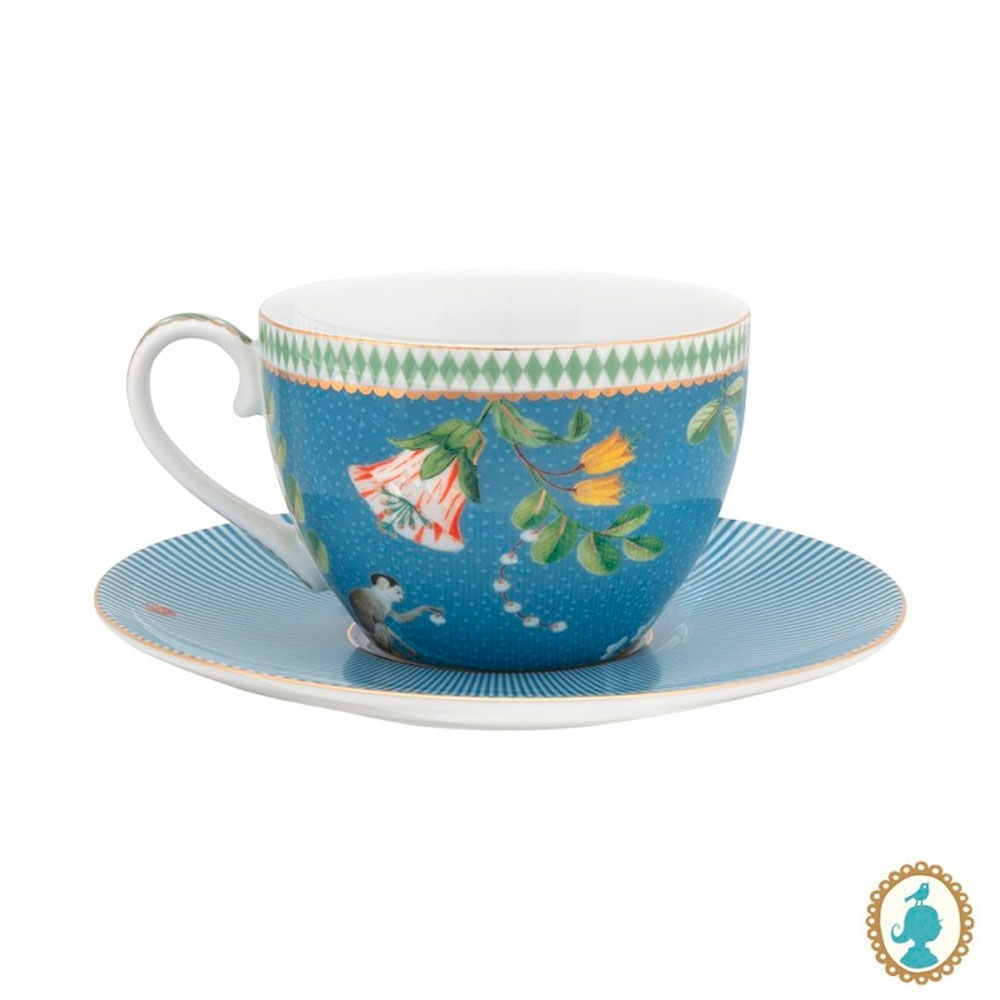 Xícara de Chá Azul La Majorelle Pip Studio