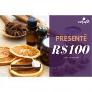 Cartão Presentê - R$100