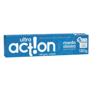 Creme Dental Vegano Anticárie - Menta Alaska - Ultra Action