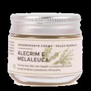 Desodorante Creme Natural Alecrim e Melaleuca - peles normais - Prema