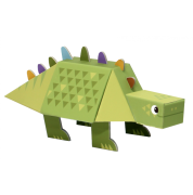 Dinossauro de Montar - Estegossauro - Krooom