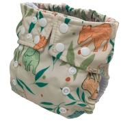 Fralda Ecológica Ajustável por Botões - Anta - Bebês Ecológicos