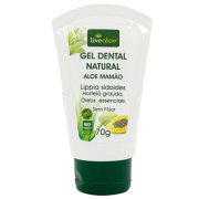 Gel dental natural vegano Aloe e Mamão - Livealoe