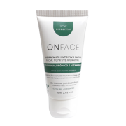 Hidratante Facial Vegano Onface - Ácido Hialurônico e Vitamina E - Biozenthi