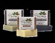 Kit Shampoo, Condicionador e Sabonete Sólidos - Veganos e Naturais - Prema
