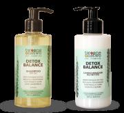 Kit Shampoo e Condicionador Vegano Detox Balance - cabelo oleoso - Twoone Onetwo