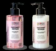 Kit Shampoo e Condicionador Vegano Instant Repair - cabelo normal a seco - Twoone Onetwo