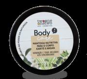 Manteiga Nutritiva Vegana para Corpo - Karité e Argan - Twoone Onetwo
