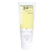 Protetor Solar Corporal Natural e Vegano - protetor físico FPS30 - Herbia