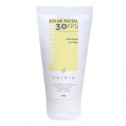 Protetor Solar Facial Natural e Vegano - pele mista ou seca - Herbia