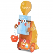 Robô de Montar - Cientista - Krooom