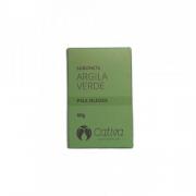 Sabonete Facial Argila Verde - Pele Oleosa - Cativa Natureza