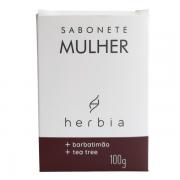 Sabonete Íntimo Mulher - Barbatimão e Tea Tree - Herbia