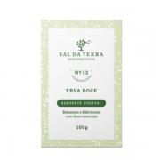 Sabonete Natural de Erva Doce - Relaxante e Hidratante - Sal da Terra