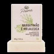 Sabonete Rosto, Corpo Barbatimão e Melaleuca - pele oleosa ou mista - Prema