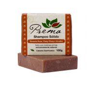 Shampoo Sólido - Pimenta Rosa, Ylang-Ylang e Ucuúba - cabelos danificados - Prema