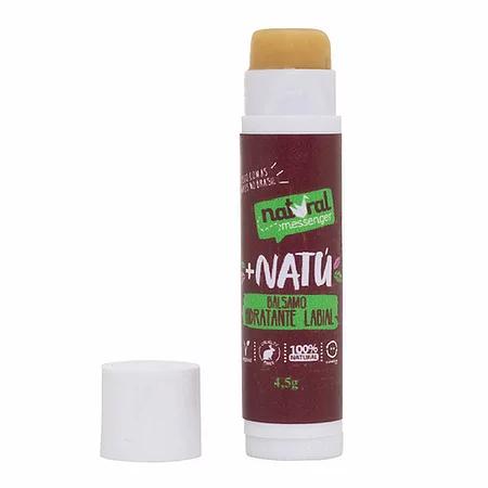 Bálsamo Hidrtante Labial Natural - Mandarina e Lavanda - Natural Messenger  - Verdê Cosméticos