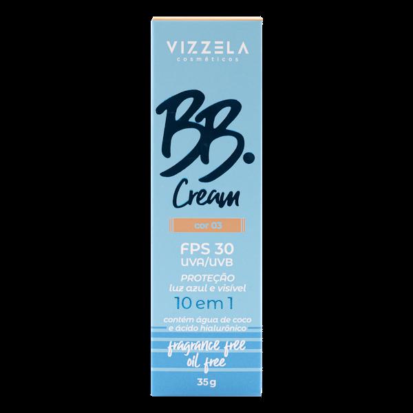 BB Cream Vegano FPS30 - cor 03- Vizzela  - Verdê Cosméticos