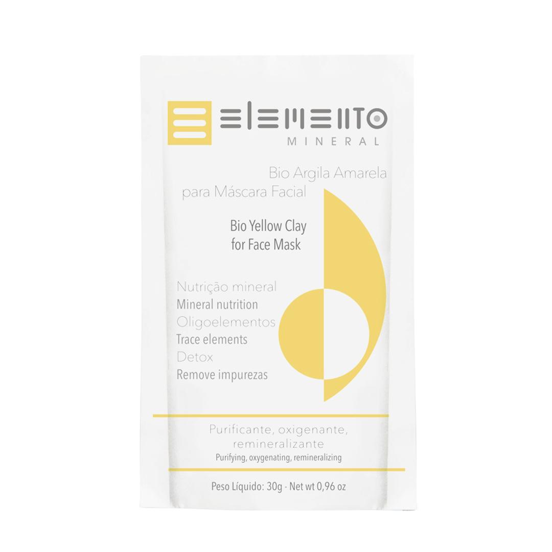 Bio Argila Amarela - Pele Sensível - Elemento Mineral  - Verdê Cosméticos