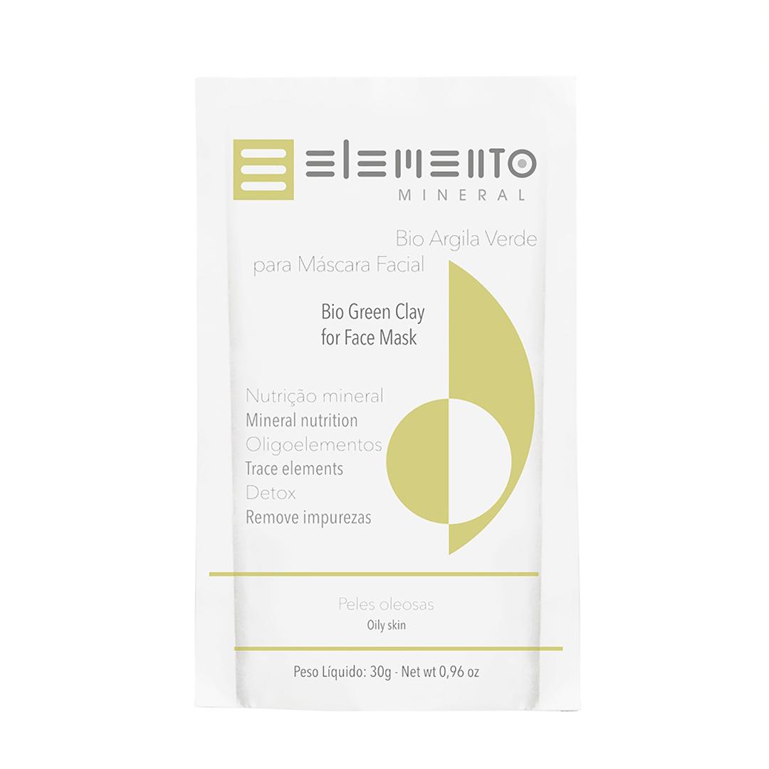 Bio Argila Verde - Pele Oleosa - Elemento Mineral  - Verdê Cosméticos
