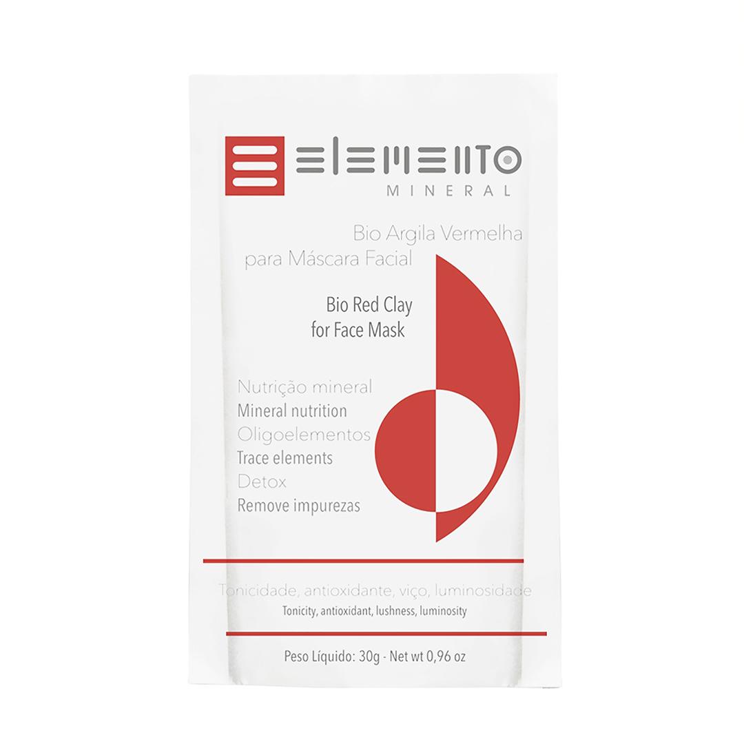 Bio Argila Vermelha - Pele Madura - Elemento Mineral  - Loja da Verdê