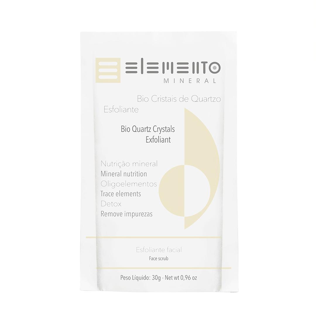 Bio Cristais de Quartzo - Esfoliante Mineral - Elemento Mineral  - Loja da Verdê