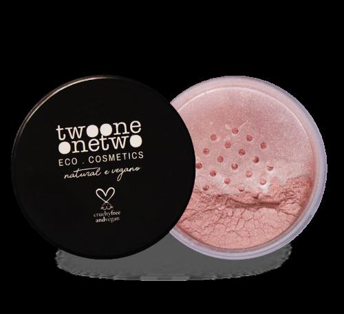 Blush Vegano Natural - Rose - Twoone Onetwo  - Verdê Cosméticos
