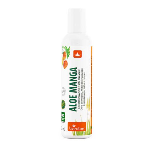 Condicionador e Creme de Pentear Aloe Manga  - Livealoe  - Verdê Cosméticos