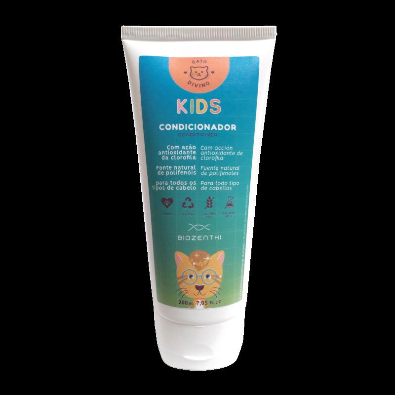 Condicionador Infantil Gato Divino - Biozenthi  - Loja da Verdê