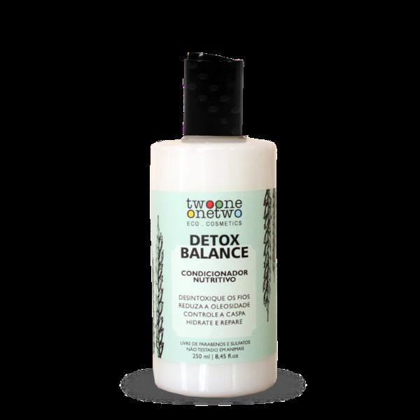 Condicionador Vegano Detox Balance - cabelo oleoso/caspa - Twoone Onetwo  - Verdê Cosméticos