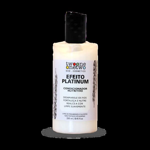 Condicionador Vegano Efeito Platinum - cabelos loiros ou grisalhos - Twoone Onetwo  - Verdê Cosméticos