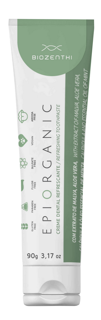 Creme Dental Vegano - Epiorganic - Biozenthi  - Verdê Cosméticos