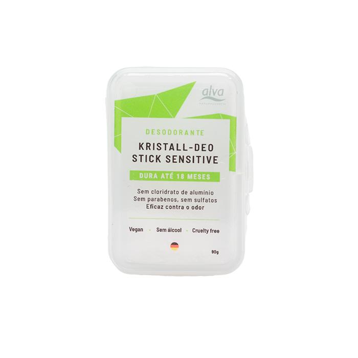 Desodorante Natural Vegano Kristall Stone - 90g - Alva  - Verdê Cosméticos