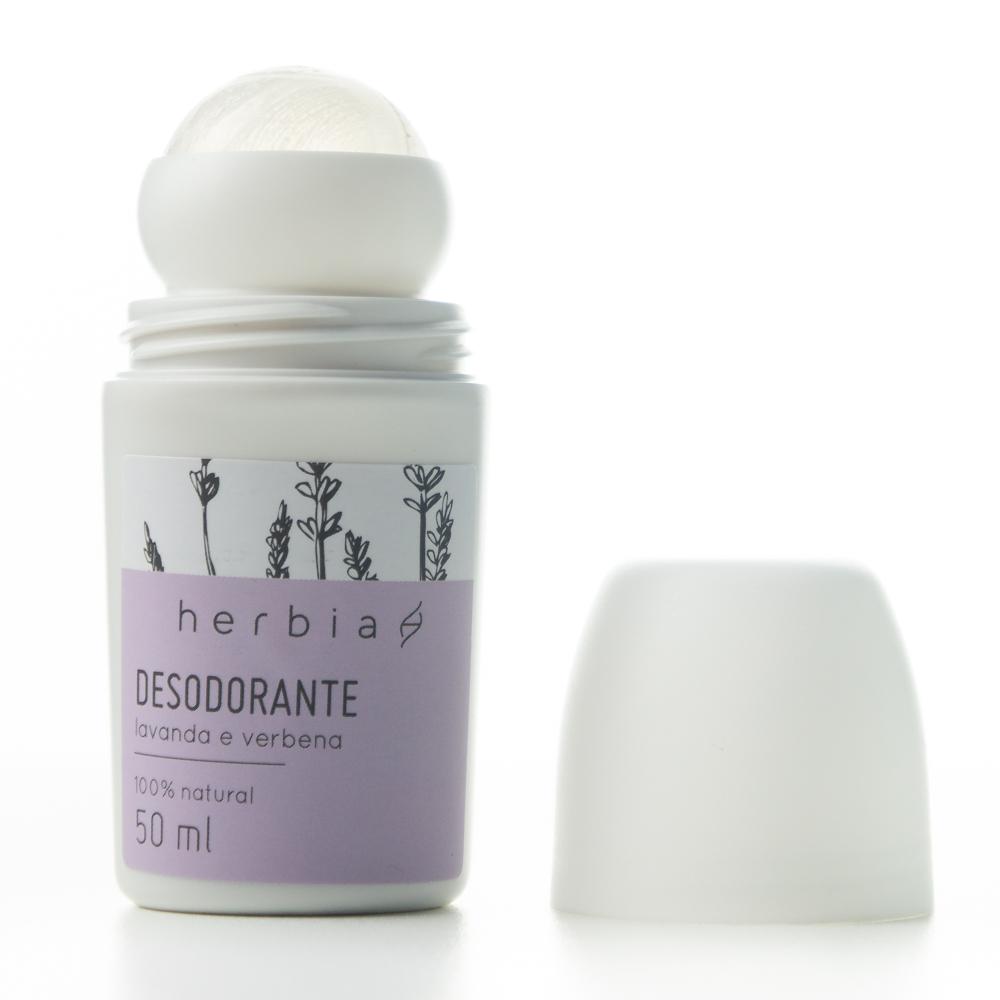 Desodorante Natural Vegano - Lavanda e Verbena - Herbia  - Verdê Cosméticos