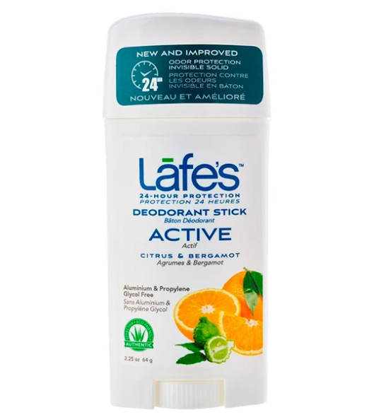 Desodorante Natural Vegano Twist Active - Citrus & Bergamot - Lafe