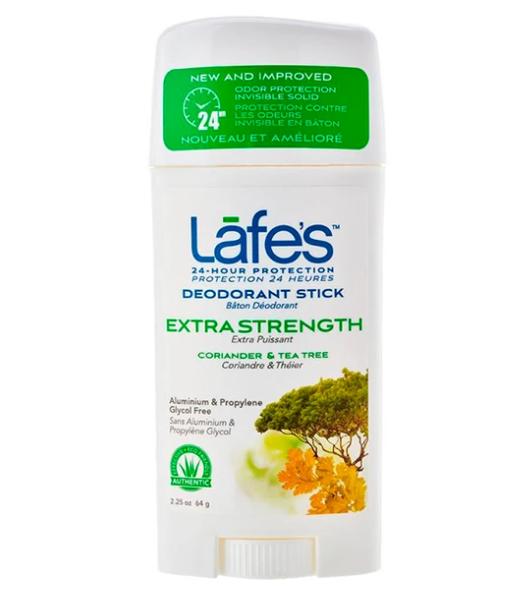 Desodorante Natural Vegano Twist Extra Strength - Coriander & Tea Tree - Lafe