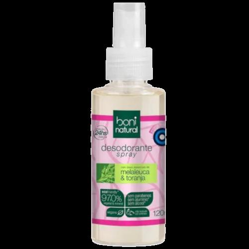 Desodorante Spray Vegano - Melaleuca e Toranja  - Boni Natural  - Verdê Cosméticos