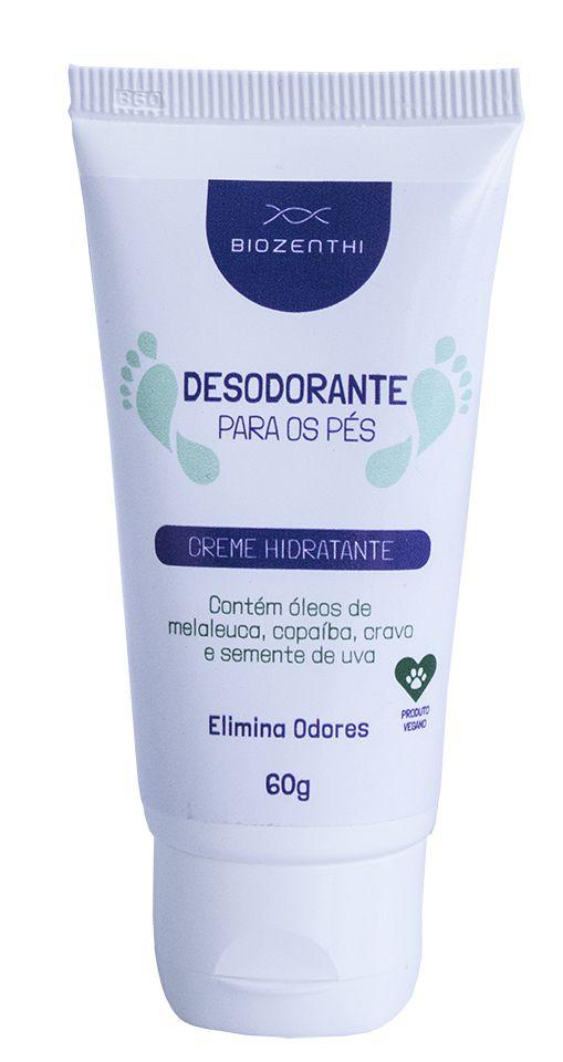 Desodorante Vegano Para Pés - Biozenthi  - Verdê Cosméticos