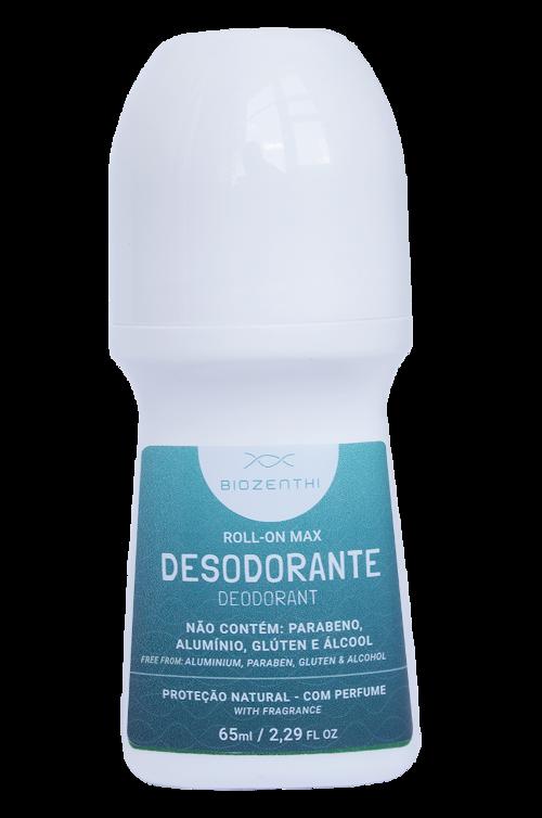 Desodorante Vegano Roll-on Sem Alumínio - Max - Biozenthi  - Verdê Cosméticos