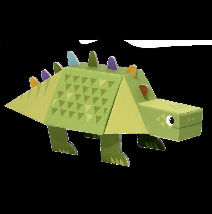 Dinossauro de Montar - Estegossauro - Krooom  - Loja da Verdê