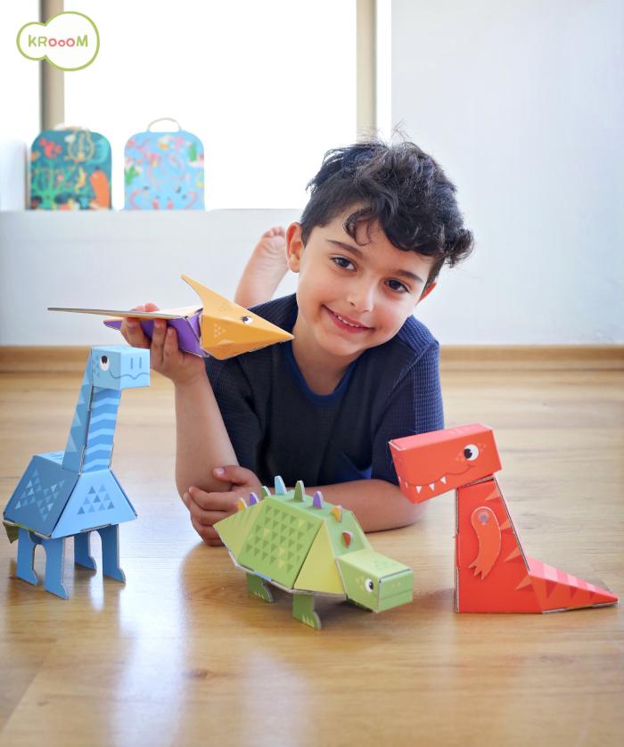 Dinossauro de Montar - Pterossauro - Krooom  - Loja da Verdê