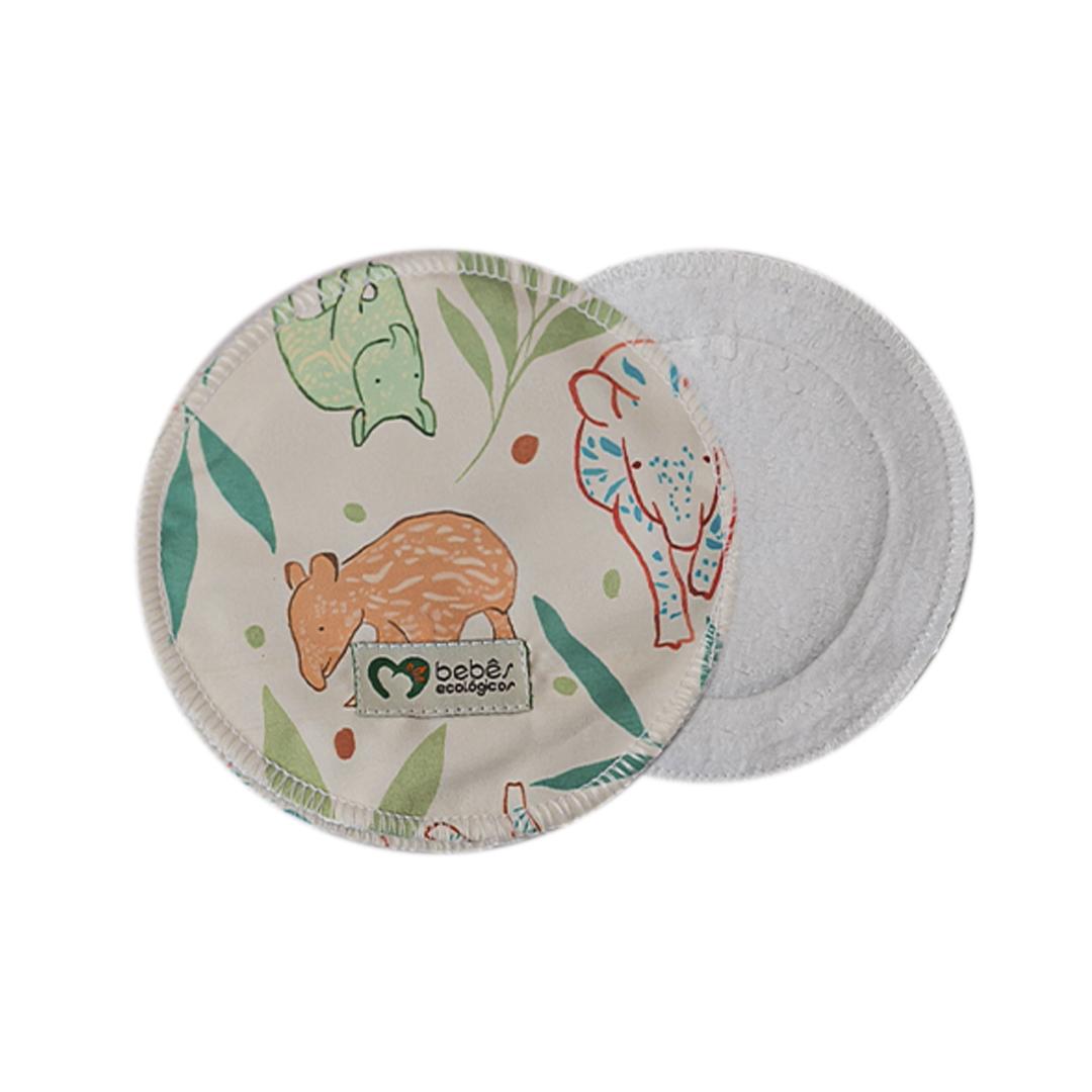 Disco Absorvente de Algodão  - Anta - Bebês Ecológicos  - Loja da Verdê