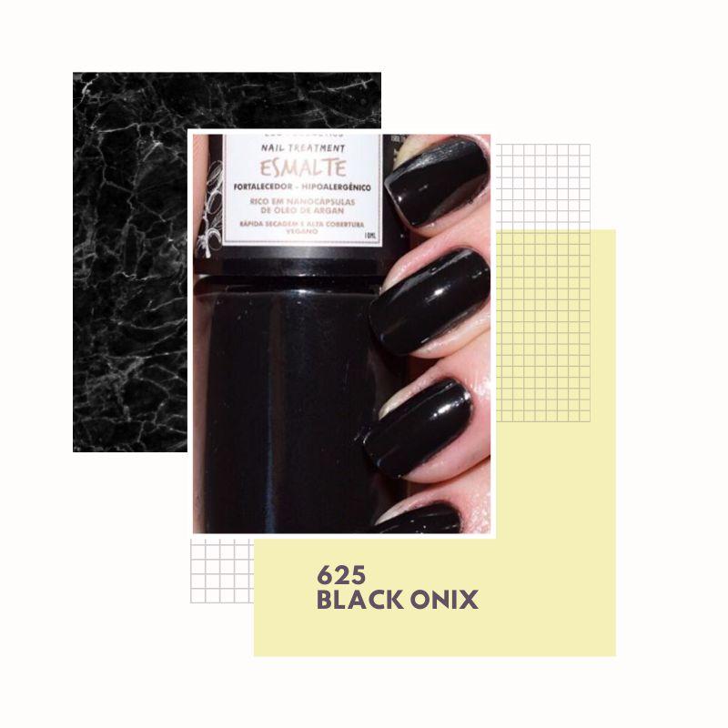 Esmalte Vegano Hipoalergênico - Black Onyx - Twoone Onetwo  - Verdê Cosméticos